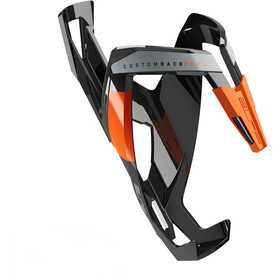 Elite Custom Race Plus Uchwyt na bidon, glossy black/orange design